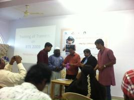 RTE Train the Trainers Shimoga