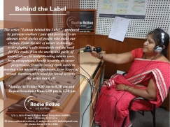 Garment Worker Poster