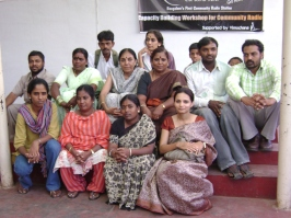 The group after the workshop