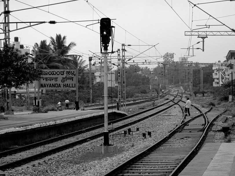 Number 1-Railway track Nayandahalli