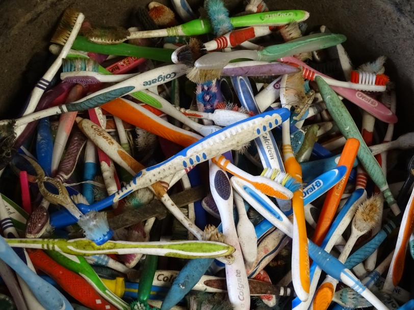 NUmber 13b-Waste tooth brush