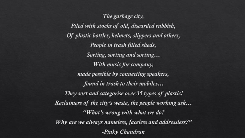 Poem 8 Garbage city