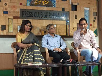 vasathi-hariprakash-sheshadri-mokshagundam-and-karthik-at-the-announcement-of-hrishikesh-mukherjee-film-festival