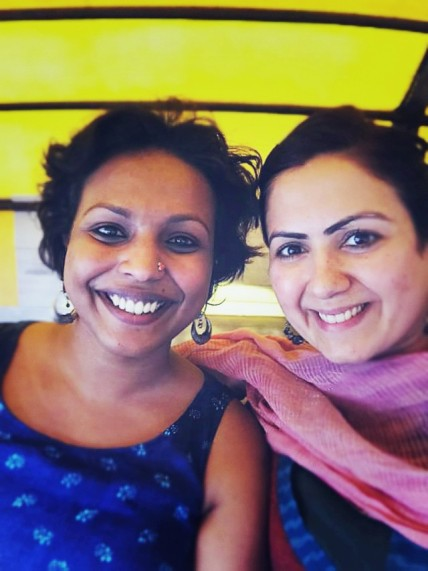 Lakshmi and Jasmeen