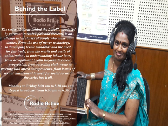 Garment Worker Poster- RJ Asha